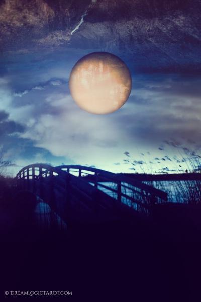 The Moon - Tarot Card 18